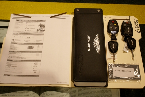 Used 2008 Aston Martin V8 Vantage Roadster