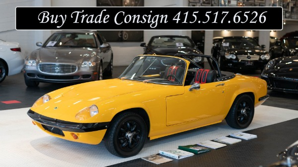 Used 1969 Lotus Elan Series 4