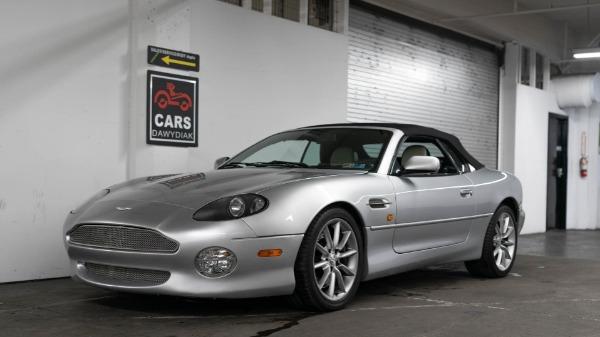 Used 2002 Aston Martin DB7 Vantage Volante