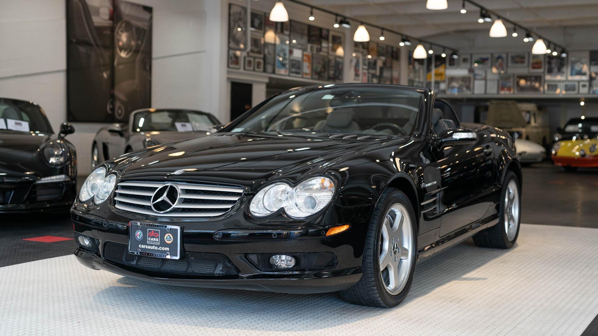 Used 2005 Mercedes Benz SL Class SL 55 AMG