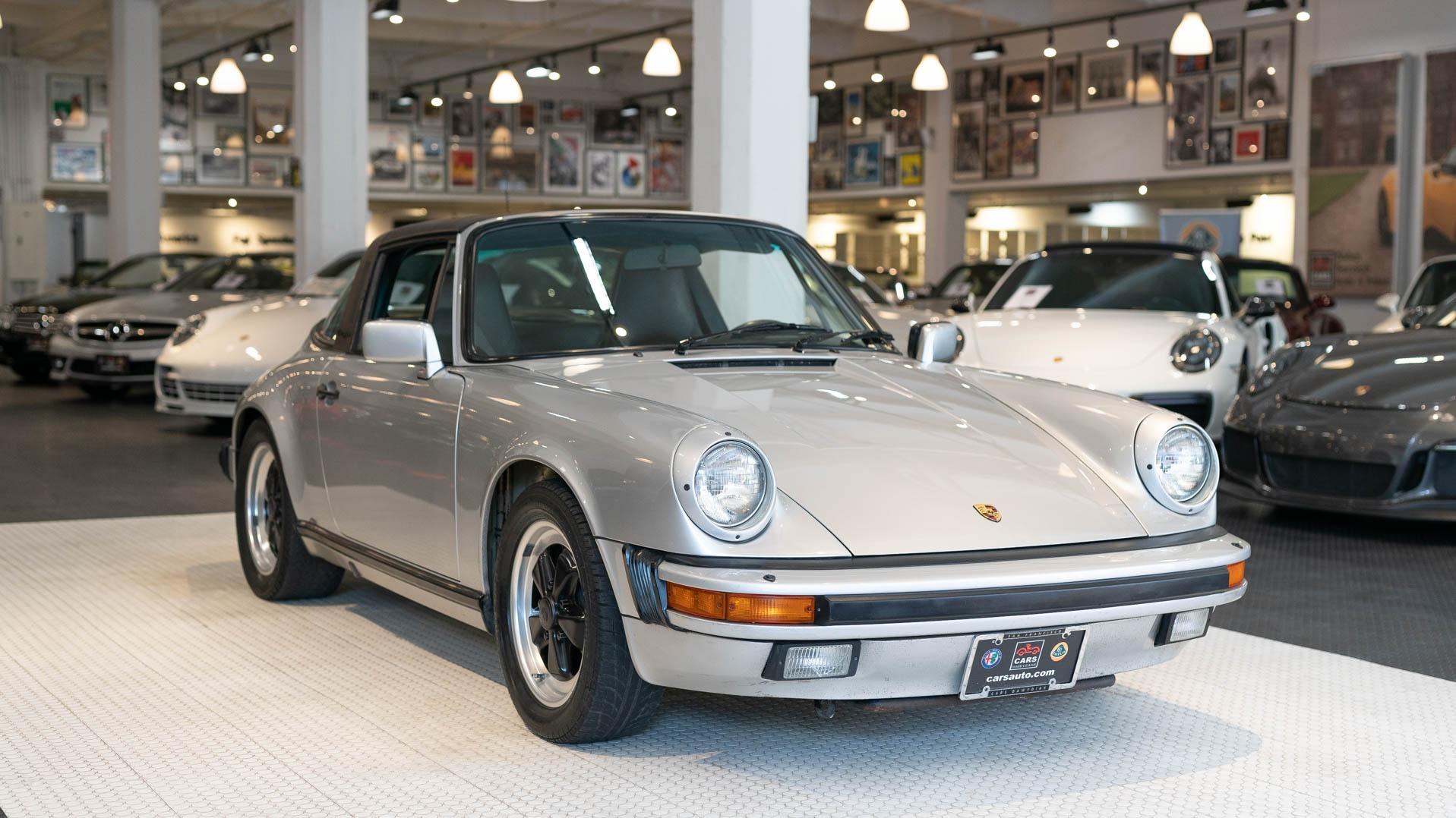 Used 1985 Porsche 911 Targa