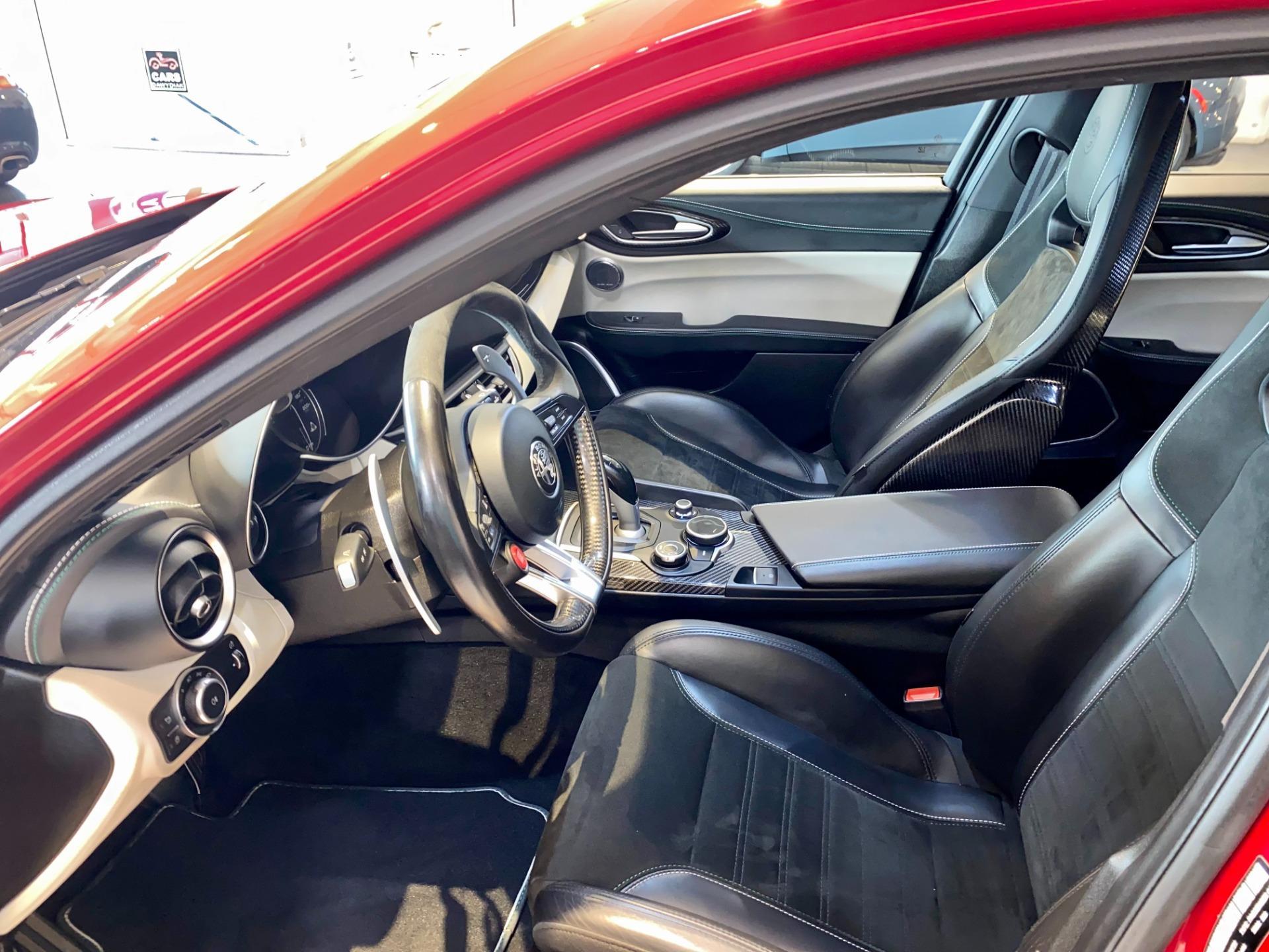 Used 2017 Alfa Romeo Giulia Quadrifoglio