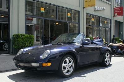 Used 1996 Porsche Carrera Cabriolet Carrera