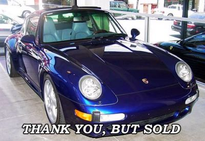 Used 1996 Porsche 993 Turbo