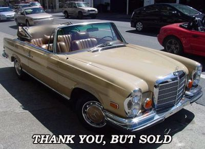 Used 1970 Mercedes Benz 280 SE