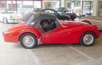Used 1961 Triumph TR 3 A