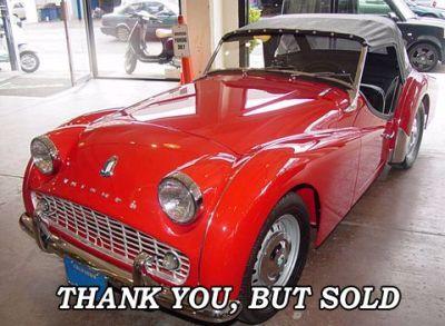 Used 1961 Triumph TR-3 A
