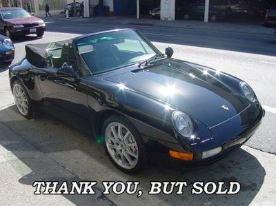 Used 1998 Porsche Carrera 4 Cabriolet