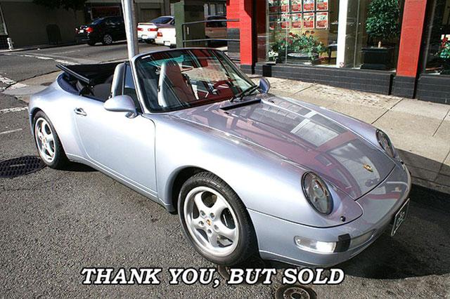 Used 1996 Porsche Carrera 2 Cabriolet