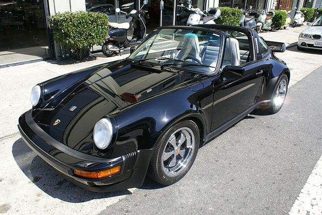 Used 1988 Porsche 930 Targa Turbo