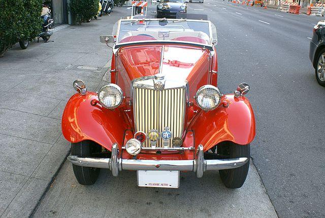 Used 1953 MG TD