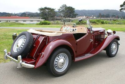 Used 1951 MG TD