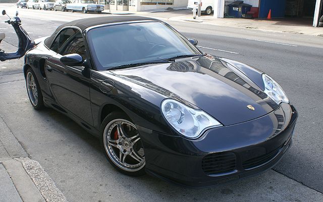 Used 2004 Porsche Turbo Cabriolet