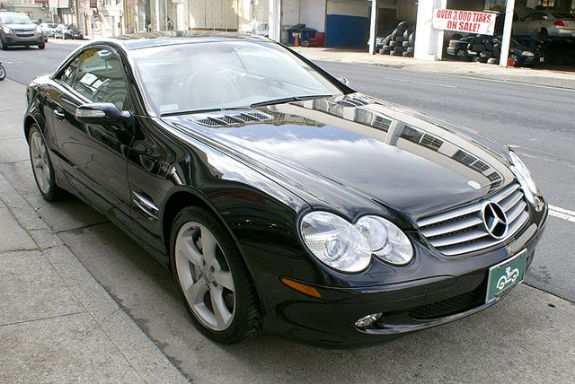 Used 2004 Mercedes Benz SL600