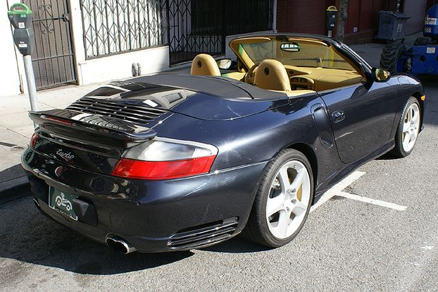 Used 2004 Porsche Carrera Turbo Cabriolet