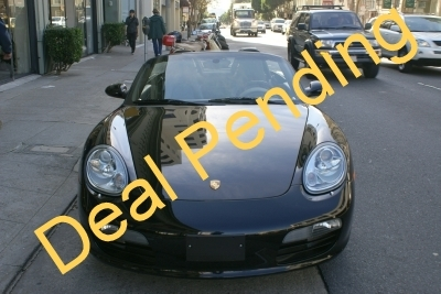 Used 2008 Porsche Boxster 6 Speed Sport