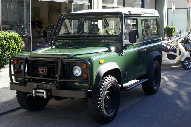 Used 1994 Land Rover Defender 90 Factory Aluminum Hardtop
