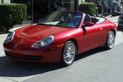 Used 2001 Porsche 911 Cabriolet