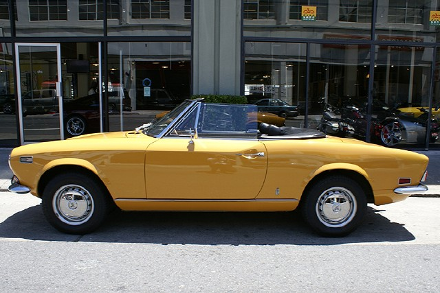 Used 1971 Fiat 124 Sport Spider