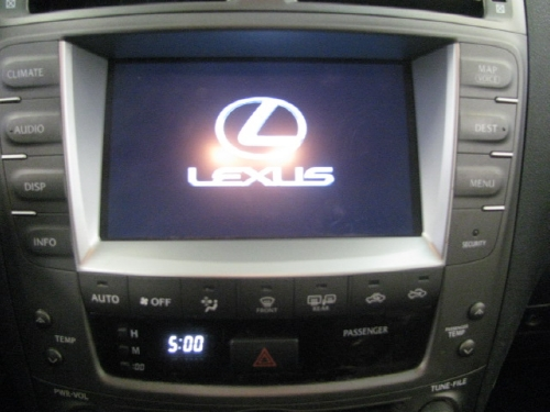 Used 2007 Lexus IS 250 Navigation
