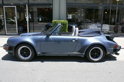 Used 1989 Porsche 911 Turbo Cabriolet