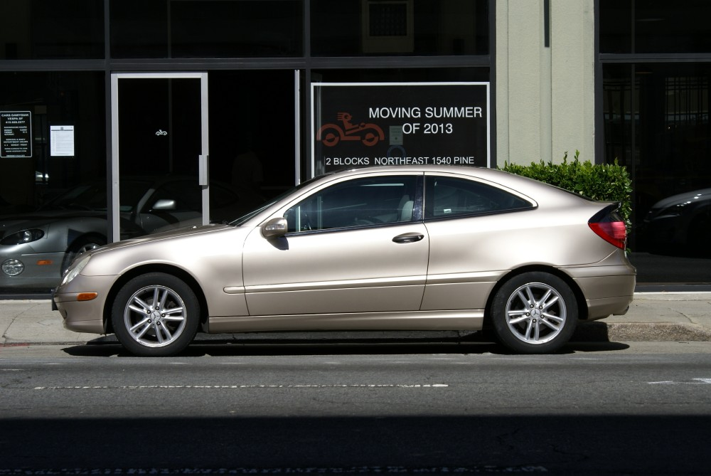 Used 2002 Mercedes Benz C230 Kompressor