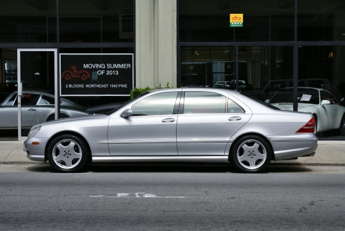 Used 2001 Mercedes Benz S55 AMG