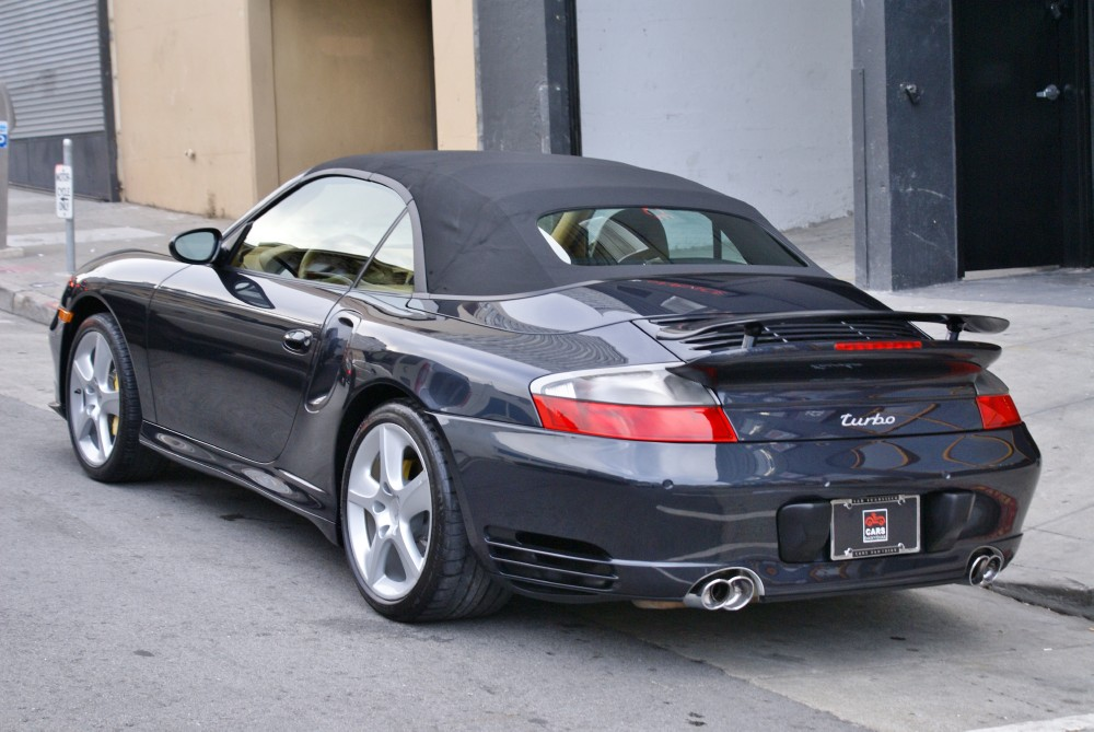 Used 2004 Porsche 911 Turbo Cabriolet