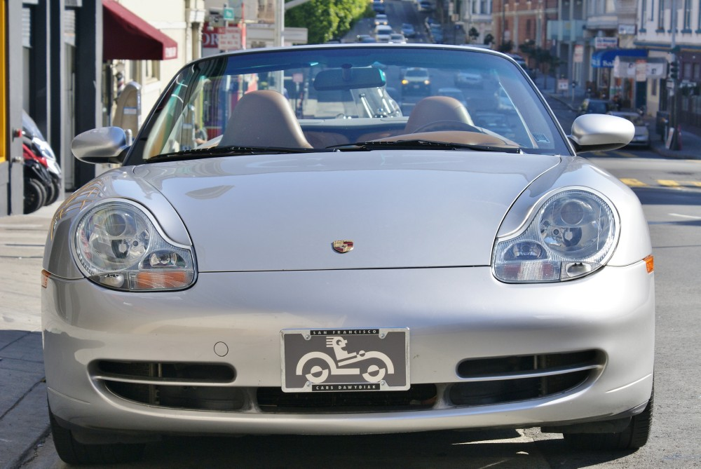 Used 2001 Porsche Carrera 4 Cabriolet