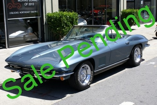 Used 1967 Chevrolet Corvette Roadster